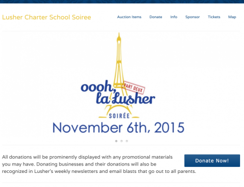 Lusher Charter School Soiree